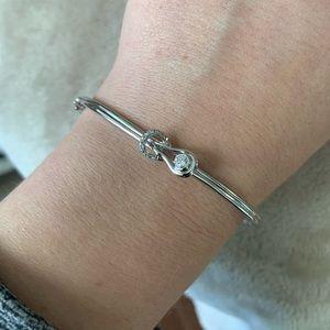Everlon 1/5 Ct. Diamond Sterling Silver Bracelet